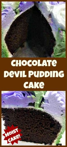 A super easy and soft, moist cake perfect for chocolate lovers . Also recipe for a delicious whipped cream frosting too! Great for Mother's Day or Easter! Chocolate Dreams, Best Chocolate, Chocolate Recipes, Chocolate Lovers, Cake Chocolate, Wiener Schnitzel, Cupcakes, Cupcake Cakes, Frosting Recipes