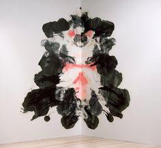 Noël Skrzypczak  Close, 2011  2.9 x 3m,  Synthetic polymer paint installation