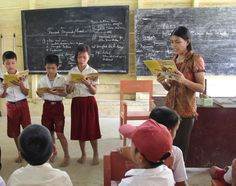 CWS is helping students in Indonesia learn about sanitation and hygiene. Better sanitation = healthier kids.