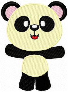Freebie: Panda Bär - für den 10x10cm Rahmen