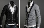 Men Fashion / 20% OFF Men's Knitted Cardigan. ONLY $39.95 with free shipping