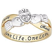 Couple's Claddagh Ring  From Seventh Avenue