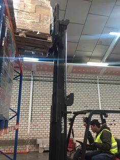 Seguimos con las prácticas del módulo de manipulación de cargas con carretillas elevadoras para Adecco dentro del CP