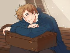 Newt scamander fantastic beasts and where to find him