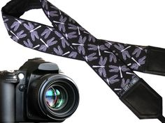 Camera strap dragonflies. Flying adders on white DSLR / SLR Camera Strap. Camera accessories. Nikon, Canon, Sony etc. camera strap. Camera straps for women and men. Gift idea!  More Animal camera straps wait you here: https://www.etsy.com/shop/InTePro?ref=hdr_shop_menu&search_query=animals  If you decide to choose another design, please take a look here: https://www.etsy.com/shop/Intepro   --- Product description ---  This adorable c...