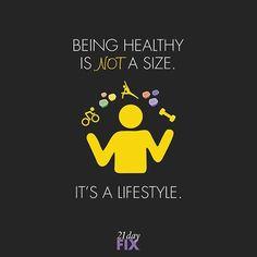 Being healthy looks different for everyone! Treat your body with respect & kindness and your body will love you back. Let's make healthy choices today that will make us feel great tomorrow. ⠀ ⠀ #21dayfix #motivationmonday