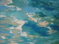 Jayn Foley Etsy Abstract Ocean Painting