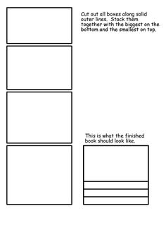 Lapbook Template