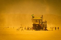 Almost Burning Man Time: House Roller / Sep.