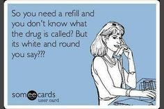 Day in the life of a Pharmacy Tech FYI there's only hundreds on round white pills Pharmacy Humor, Pharmacy Technician, Medical Humor, Nurse Humor, Medical Assistant, Pharmacy Quotes, Psych Nurse, Funny Medical, Pharmacy School