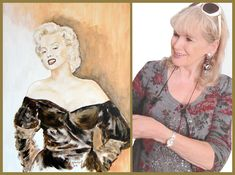 MARILYN MONROE PAINTING Marilyn Monroe Painting, Game Of Thrones Characters, Fictional Characters, Art, Art Background, Kunst, Marilyn Monroe Drawing, Performing Arts, Fantasy Characters
