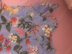Blusa con estampado mixto y aberturas en los hombros | SHEIN España Botanical Prints, Printed Blouse, Men