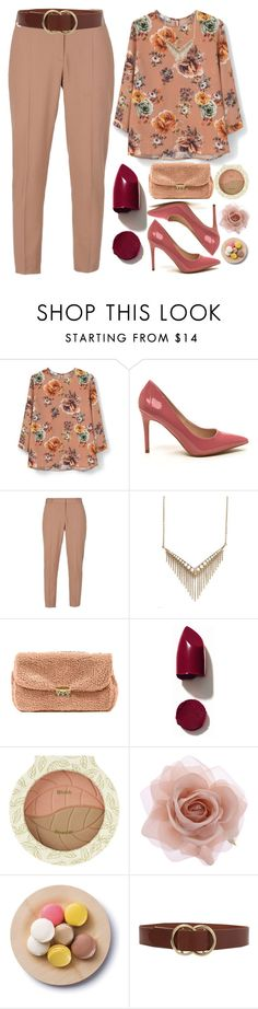 """""""Floral print"""" by grozdana-v ❤ liked on Polyvore featuring MANGO, STELLA McCARTNEY, Melinda Maria, NARS Cosmetics, Accessorize, Cultural Intrigue, Frame Denim, women's clothing, women and female"""