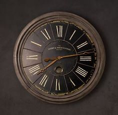 Clocks | Restoration Hardware