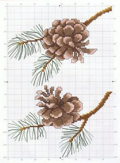 Thrilling Designing Your Own Cross Stitch Embroidery Patterns Ideas. Exhilarating Designing Your Own Cross Stitch Embroidery Patterns Ideas. Fall Cross Stitch, Cross Stitch Tree, Cross Stitch Borders, Cross Stitch Flowers, Cross Stitch Charts, Cross Stitch Designs, Cross Stitching, Cross Stitch Patterns, Loom Patterns
