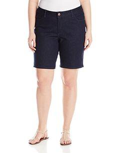 994c998535 Lee Women's Plus-Size Modern Series Curvy Jolene Bermuda Short, Relic, 22W  Medium