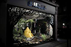 diesel window display by Kyle Bean