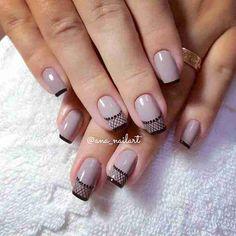 French Nail Designs, Toe Nail Designs, Nail Polish Designs, Purple Nails, Bling Nails, Gorgeous Nails, Pretty Nails, Nail Mania, Dream Nails