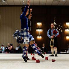 sword dance at North American Highland Dance Championship at USIR 2015 - Photo Credit to Ron Tecanti