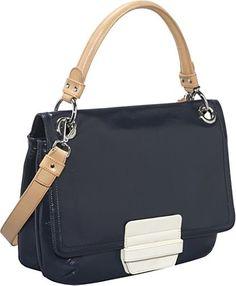 Orla Kiely colourblock handbag.