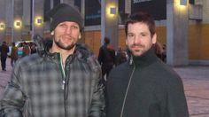 Richard Zedník a Rastislav Pavlikovský (vpravo): Rasťo chvíľu bude  musieť hokej pozerať len ako  divák.
