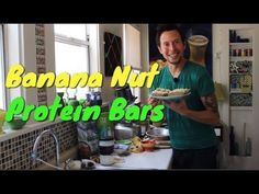 ▶ Banana Nut Protein Bars: Organic Vegan Superfood Recipe - YouTube