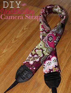 Devon Alana Design: Vera Bradley Camera Strap Tutorial