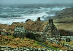 The Moon shines in a different light, pagewoman: Boddam Cottage, Shetland Isles,...