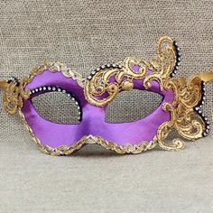 Colombina Regal Purple Satin