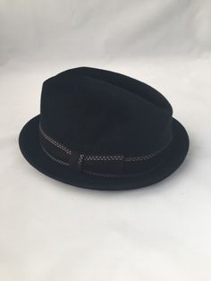 A personal favorite from my Etsy shop https://www.etsy.com/ca/listing/252174700/biltmore-fedora-vintage-classic-black