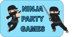 DIY Ninja Party Games for your little ninja's Birthday! Must do! Maybe use coloured bracelets instead of belts??