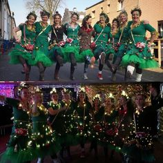 Inspiration, handicraft instructions & accessories with which you can easily make your Christmas tree costume for groups yourself # diykostüm # Costume idea Christmas Tree Costume, How To Make Christmas Tree, Beautiful Soup, Handicraft, Diy Gifts, Cosplay, Costumes, Halloween, Concert