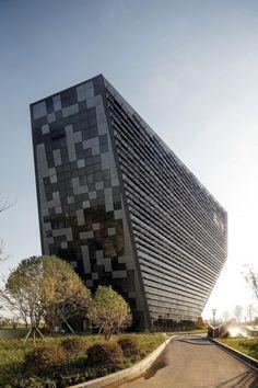 West Taihu International Business Plaza by LAB Architecture Studio + SIADR #architecture ☮k☮