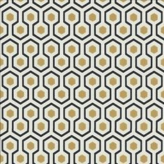 Papier peint Hicks\' Hexagon - Cole and Son | Wallpaper, Sons and ...