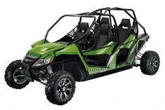 2013 Arctic Cat Wildcat 4 Green