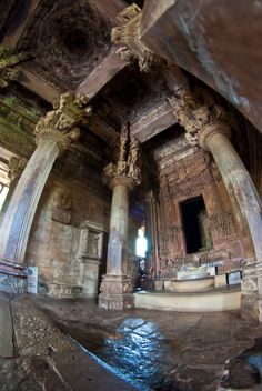 KHAJURAHO GROUP OF MONUMENTS: LAKSHMANA TEMPLE INTERIOR • c. 930-950 CE • in Madhya Pradesh, India • http://whc.unesco.org/en/list/240