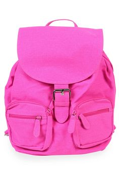 Deb Shops #neon #backpack with buckle