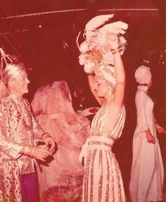 """Lord Glenconner's gold-themed birthday party in Mustique in the mid-'70s was documented by Robert Mapplethorpe."""