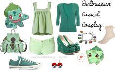 Pokemon's Bulbasaur-inspired casual cosplay set