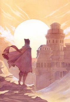 The Lost City by Neko-Art