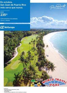 Flight to San Juan Puerto Rico from 235€