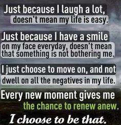 It's my choice.