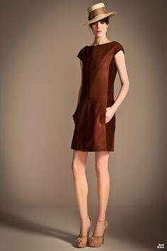 Clásicos vestidos de moda colección Temperley London
