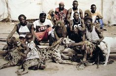 A Fascinating Look At The Hyena Men Of Nigeria