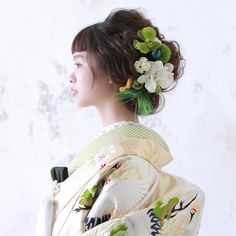 Japanese Wedding, Japanese Modern, Wedding Photography Contract, Hair Upstyles, Pre Wedding Photoshoot, Character Outfits, Bride Hairstyles, Kimono Fashion, Hair Comb