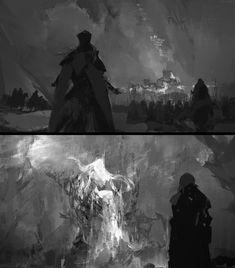 Legend Of King, Story Elements, King Arthur, The Past, Batman, Concept, Superhero, Artwork, Painting