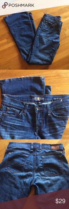 LUCKY BRAND//charlie flare 6/28 in good used condition Lucky Brand Jeans Flare & Wide Leg