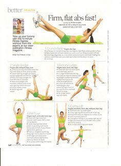 Firm, flat abs fast!