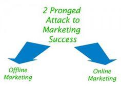 2-pronged-attack-marketing-success
