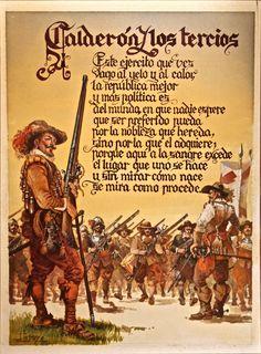 Calderón y los tercios
